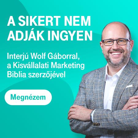 Interjú Wolf Gáborral, a Marketing Commando alapítójával