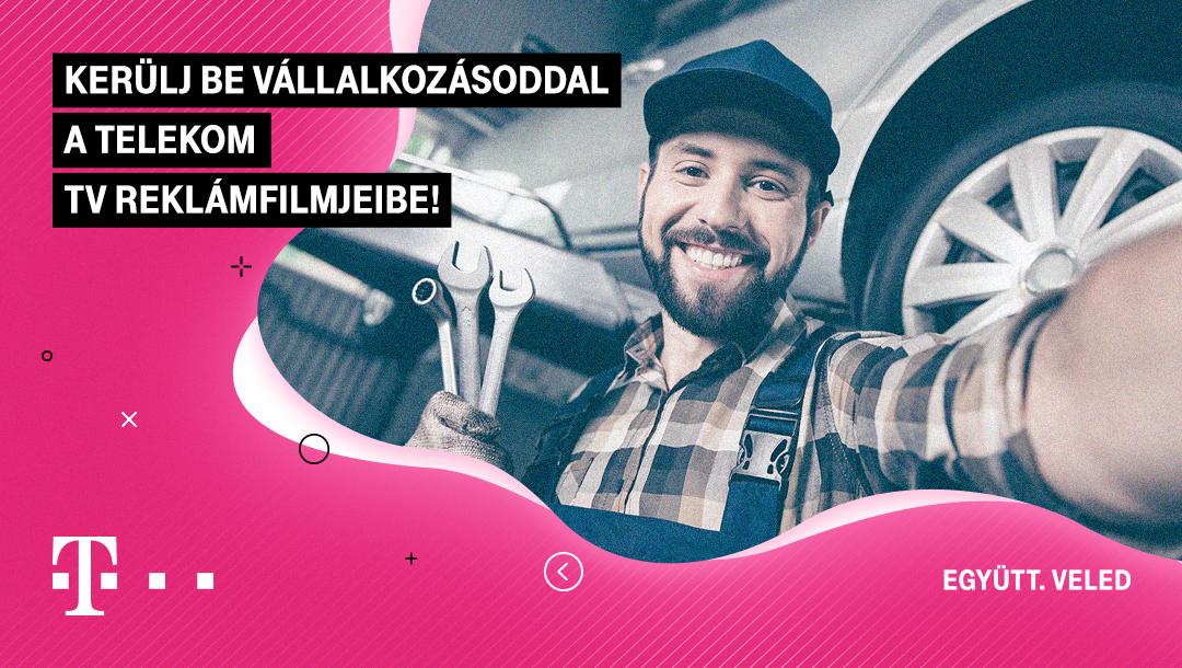 Kerülj be a vállalkozásoddal a Telekom júniusi TV reklámfilmjeibe